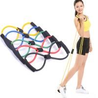 Resistance Band Arms Tali Stretching Yoga Fitness Wanita Exercises Gym