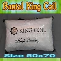 bantal king coil ukuran 50x70