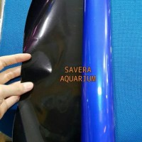 Background Tinggi 60cm Polos / Biru & Hitam / Gambar Aquarium