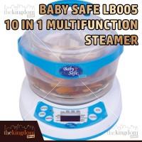 Baby Safe LB005 10-in-1 Steamer Multifunction Steamer Alat Masak Kukus