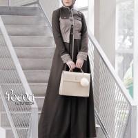 Baju Kerja - POEVA COAT PV-0217003 - Baju Kerja Muslimah -Coat Panjang