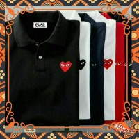 T Shirt Baju Kaos Play CDG COMME DES GARCONS size m l xl xxl 3xl 4xl