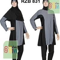 Baju Renang Muslimah Syar'i XXL (Baju & Celana terpisah) - 5