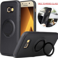 I-Zore Magnetic Ring Shockproof Case Samsung Galaxy A7 2017