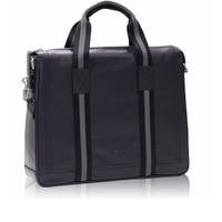 Tas Kerja Sergio Milano Bag SM-15 LPCO - Black Original Italian Design