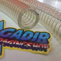 Selang Radiator Balap Ninja R/RR 2T Transparan/Bening   Made in Japan