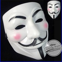 topeng anonymous / topeng vendetta / topeng pesta / mask party