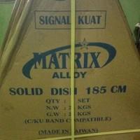 Dish Antena Parabola Solid 6ft 6 feet Matrix Alloy Plus Anti Karat