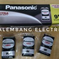 baterai 9 volt 9v 9volt Panasonic baterai mic