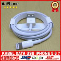 Kabel Data Usb iPhone Ipad 4 Ipad Mini Original 100% - Putih