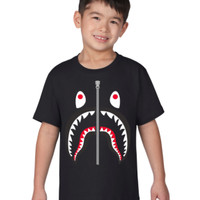 Kaos Anak (Kids) A Bathing Ape / Bape Shark