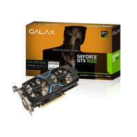 VGA Card GALAX nVidia Geforce GTX 1050 EXOC - 2GB DDR5  Dual Fan