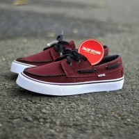 Sepatu Vans Zapato Merah Maroon For Men Barang Impor Vietnam