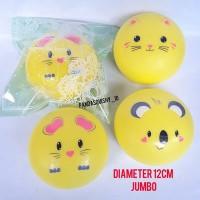Squishy Jumbo Yellow Animal Bun Emoticon Panda Cat