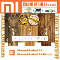Xiaomi redmi4x redmi 4x prime casing armor soft case kayu wood cover