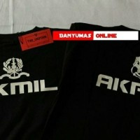 Atasan/Kaos/Baju/Polo-Shirt/COSTUM AKMIL & AKPOL SABLON DEPAN BELAKANG