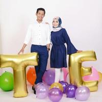 Balon Foil Huruf 100 cm/ Balon Huruf Jumbo/ Balon Nama/ Balon Wisuda