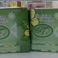 pembalut herbal avail panty liner hijau