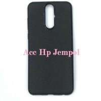 Slim Case Huawei Nova 2i - Softcase Syntetic Carbon Full Black