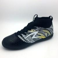 Sepatu Futsal Specs Original Heritage IN Black Gold White 400750 BNIB