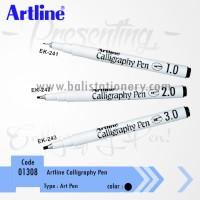Calligraphy pen Artline Black