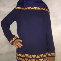 Baju Tapis Lampung Wanita Kaos Tapis Asli WIKHO
