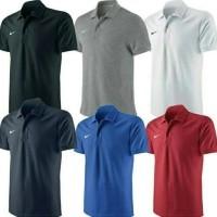Kaos Baju Polo Shirt Polos Nike Kerah Sport Olahraga Casual GYM