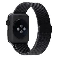 Strap Watch Band Apple Watch Series 1/2/3 42mm - hitam -SM08BK