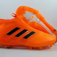Sepatu Bola Adidas ACE 17+ Purecontrol Orange FG Replika Impor