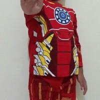 Baju anak Iron man/baju anak karakter iron man/kostum iron man