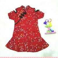 Baju Anak Cewek Cheongsam | Dress Merah | Baju Shanghai | Baju Merah