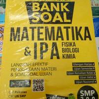 BUKU SOLUSI MASTER BANK SOAL MATEMATIKA DAN IPA UNTUK SMP KELAS 7 8 9