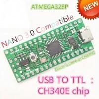 Arduino Nano V3 V3.0 3.0 ATmega328 CH340E Micro USB Compatible Board