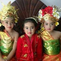 Baju Kostum Karnaval Anak Cewek Adat Bali