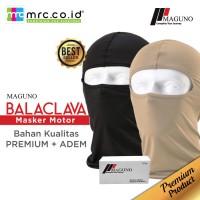 MAGUNO Balaclava masker motor bahan kualitas premium+adem - Cokelat