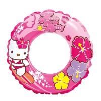 ban renang anak bulat hello kitty intex swim ring pelampung 56210 kids
