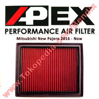 Filter Udara Mitsubishi Pajero Baru 2016-Now Apex Racing Filter