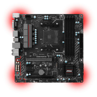 MSI B350M Mortar (AM4, AMD Promontory B350, DDR4, USB3.1, SATA3)