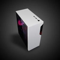 CUBE GAMING VEMUC BLACK - ATX - Full Acrylic Window - 1x12CM Ring FAN