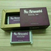 Sabun Nu Amoorea Beauty Bar 50 gr (1 box 2 bar @25 gr) Original