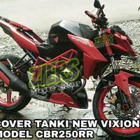 cover tangki/kondom tangki new vixion & NVA model CBR250RR