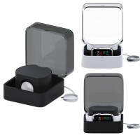 Portable Charger Holder Dock Case Cover Bag Box For Apple Watch