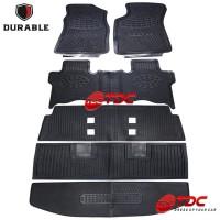 Durable Karpet Khusus Toyota Innova Reborn Full Set Black -TDC