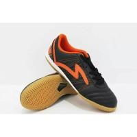 Sepatu Futsal Specs Horus Hitam Orange Original