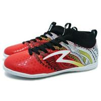 Sepatu Futsal Specs Heritage IN Emperor Red/Gold/White
