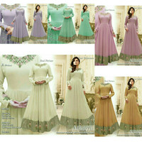 baju gamis India Athaya