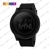 Jam Tangan Pria Digital SKMEI 1142 Black Water Resistant 50M