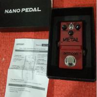 Ammoon Nano Pedal Guitar Metal Mini Pedal Efek Gitar