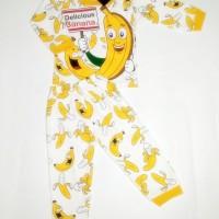 Piyama Anak Banana 0-1thn Setelan Anak  Baju Anak Murah Unisex