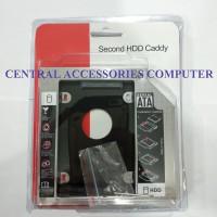 SSD HDD Caddy Slim Tipis 9.5mm SATA slot DVD